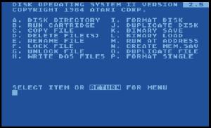 Atari DOS