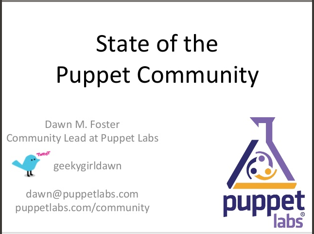 state-of-puppet-community