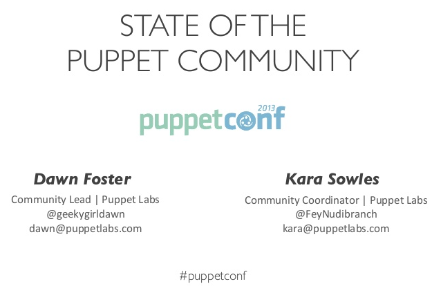 Community PuppetConf