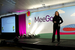 Dawn at MeeGo Conf Dublin