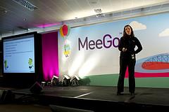Dawn at MeeGo Conf Dublin